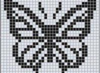 sommerfugl mønster