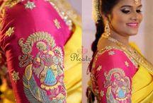Bride blouse designs