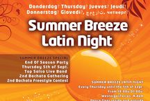 Summer Breeze Latin Night @ WestergasTerras Amsterdam / Summer Breeze Latin Night Every Thursday until the 5th of September From 19:00 - 01:00 Dance floor inside and outside DJ Mimo and Friends Free Entrance  WestergasTerras | Klönneplein 4-6 1014 DD Amsterdam http://westergasterras.nl