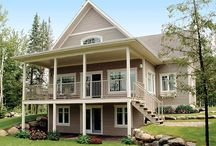 Beach House Exteriors / Beach Cottage exteriors, pools, outdoor spaces...