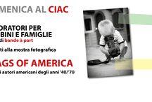 Domenica al Ciac / Laboratori per bambini e famiglie, dedicati alla mostra fotografica FLAGS OF AMERICA
