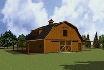 home design // barns
