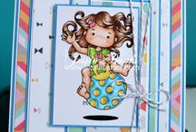 Little Miss Muffet Stamps My Cards