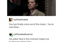 Destiel trash / wow!11!!1!1 it's Destiel!!!1!1
