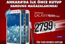 #GalaxyNoteEdge #Kutup Samsung /  #GalaxyNoteEdge Ankara'da her zaman ki gibi önce #Kutup Samsung mağazalarında lansmana özel 2.799 TL.