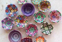 fimo + pottery