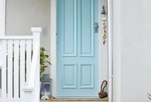Front Entrys and Doors / Not just for holidays anymore, pump up your front entry! / by Leslie Watson-Leake