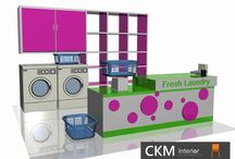 Ide Desain Interior Counter Laundry