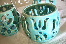 "Ceramica / ""Clay&Crochet""  Keramik, Pottery, Clay, Kerámia, Fazekas, Ceramic"