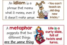 similies and metaphor