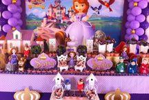 festa da princesinha Sofia
