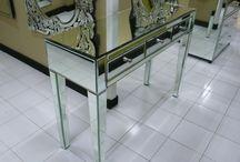 mueble espejo / mueble de espejo veneciano.  Diseño, producción y fabricación exclusiva y ecológica por www.comprarenbali.com