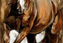 Dessins chevaux