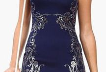 Navy Blue Dresses / by Bailey Collins