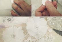 Inspirations: Wedding embroidery, beading, flowers