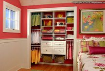 oh my closet / {Closets, flooring, curtains...oh my!}
