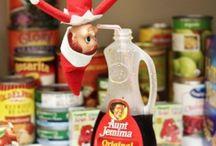 Elf on the Shelf ideas / by My Baby Giraffe