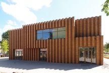 Schulen und Kindergärten / Schulen und Kindergärten in Klinker gestaltet