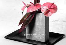 Fiore Arrangementen / Mooie arrangementen van Fiore Anthuriums