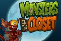 Monsters in the Closet / Monsters in the Closet è una buffa video slot con piccoli mostriciattoli che non impaurirebbero nemmeno un bambino. Le partite bonus, come Scary Slam e Bonus Destinazione, sono il suo forte. Per conoscere l'intera collezione di mostri, basta scaricare il Casinò Online Voglia di Vincere.