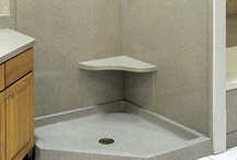 Shower Designs / Cultured Marble Shower's