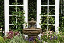 Garden designs with doors