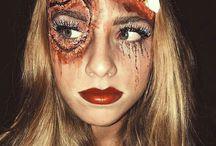 Halloween Make-up / machiaj de Halloween