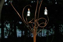 Tiki torch ideas / by Dennis Barry