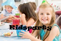 ☆ Kidsparty 2 / by Mirjam v.d. Kamp