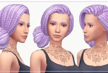 Sims 4. Not so berry hair