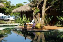 Travel-spas, yoga, beach retreats