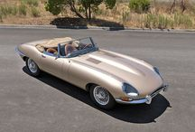 E-type. The most beautiful car in the world.