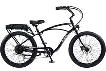 Classic Interceptor III / The Pedego Interceptor is an electric bike that has it all — combining beach cruiser comfort and style with breathtaking performance and user friendly features.