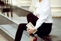 Classic Fashion / Classic items for inspiration for girl about town chic be it weekday or weekend.