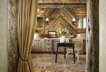 Rustic Renovations / Rustic Bathroom decor that brings out the radiance in you.