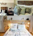 cabeceira cama DIY
