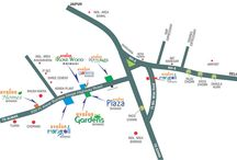 avalon rosewood location map bhiwadi