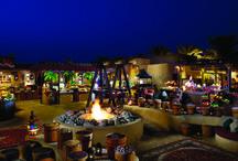 Al Hadheerah Desert Restaurant / Experience 1001 culinary delights. A magical Arabian celebration awaits you as the sun sets on Al Hadheerah, amidst the enchanting desert dunes of Bab Al Shams Desert Resort and Spa.