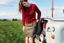 Fashion look book / Boden-esq, quintessentially British.  Fun, fresh and cutting edge