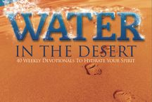 WATER IN THE DESERT Quotes / These are all quotes from WATER IN THE DESERT 40 Weekly Devotionals To Hydrate Your Spirit.  Available At Most Booksellers Online and in store at: Christian Bookstores, Barnes & Noble, Chapters/Indigo. www.sherrystahl.com