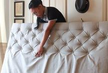 how to make tufted headboards