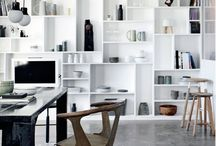 White entertainment unit/bookcase