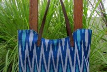 Ikat Tenun handbags by DeNesia