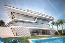 Exterior Design / Exterior renderings using 3D Studio Max and VRay
