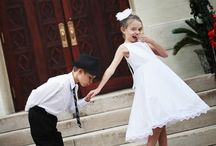 Flower Girls and Ring Bearers / Always a sweet addition to the ceremony.