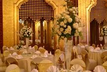 WEDDING AT AL KHALIFA BALLROOM / In a royal settings, let us plan your wedding. For information, please call 02 33 77 3222 E-mail: sameh.abdallah@menahousehotel.com