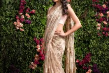 lovely delicate dream saree
