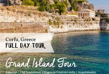 Corfu Tours / See the most beautiful and hidden corners of Corfu on our half and full day tours! Offering tailor made Corfu private tours to fit your personal requirements, we strive to make you feel every bit as special and at home as a local Corfiot.