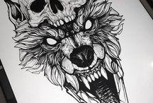 Satanism art