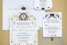 luxury wedding invitation ideas